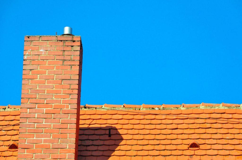 red brick type chimney